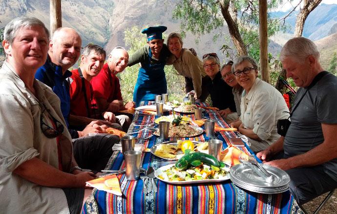 La mejor comida en los Andes Peruanos - Incredible Perú Tours 2