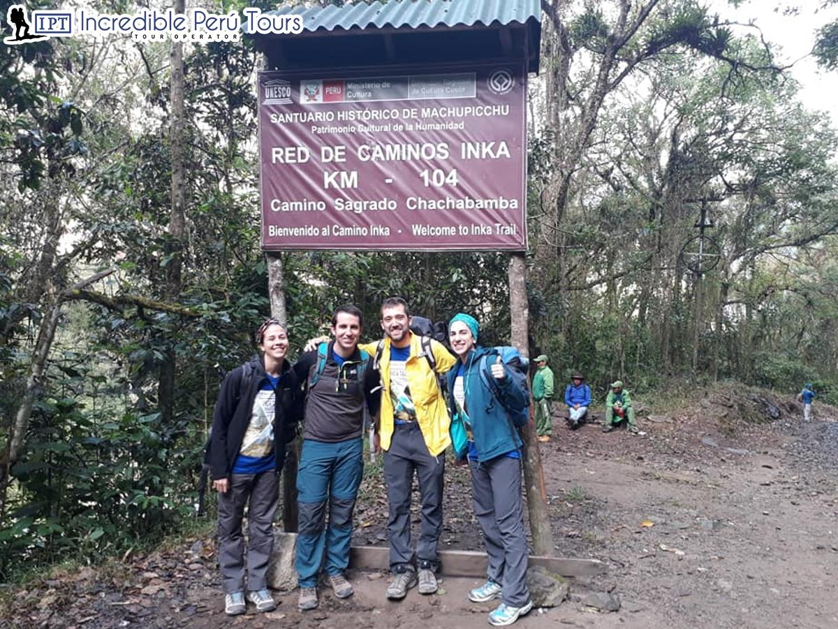 Short Inca Trail 2 Days 1 Night Camping 2