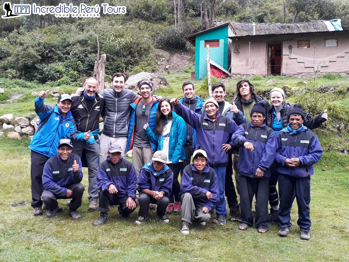 Short Inca Trail 2 Days 1 Night Camping 3